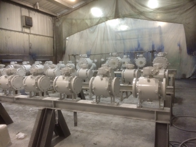 Paint Shop 1 Offshore Valves 2