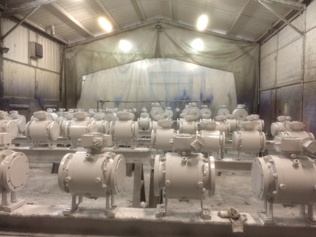 Paint Shop 1 Offshore Valves 3